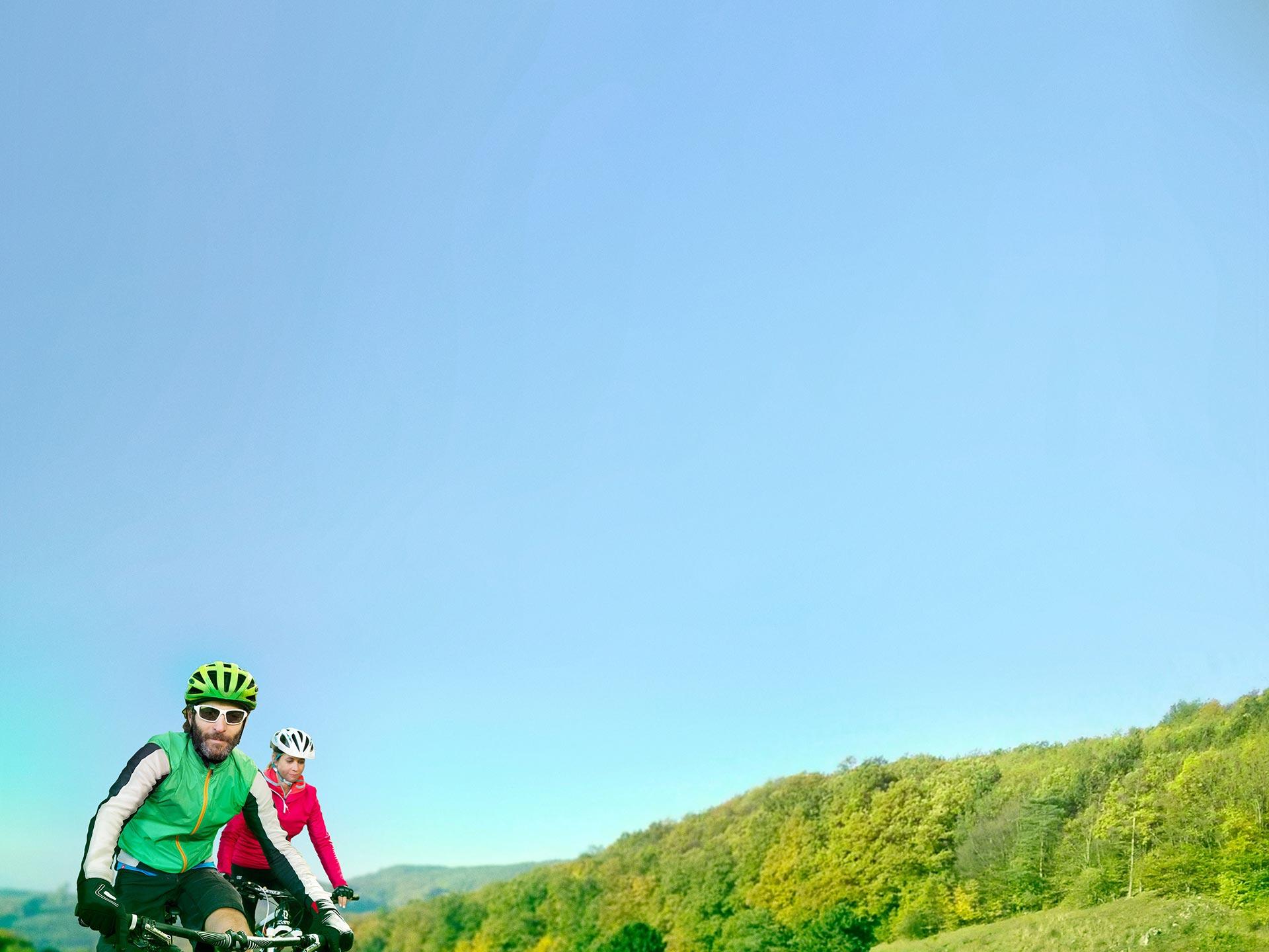 Kampagne Rad Hügel - Gemeinsam besser investieren