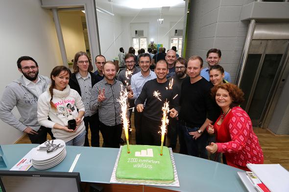 2000 wikifolios Torte und Team
