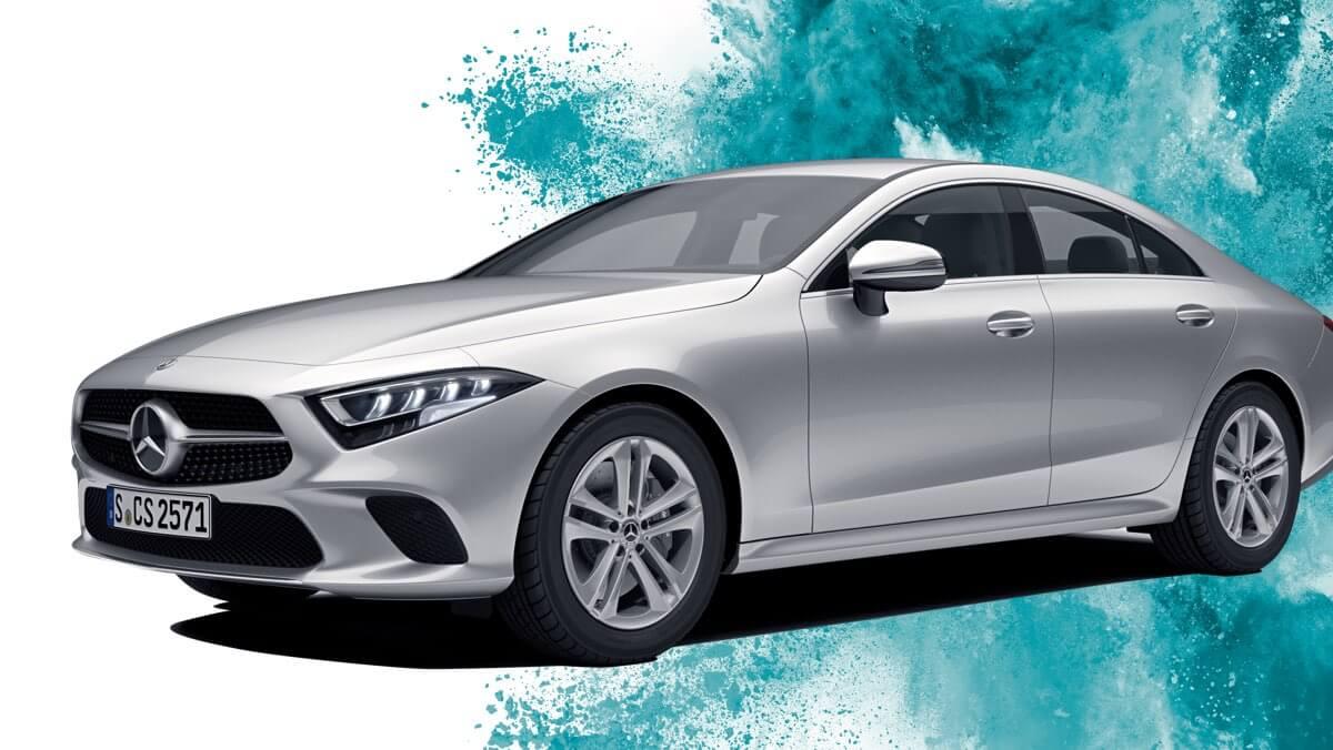 Hauptpreis Investors Challenge: Mercedes CLS 450 Coupé