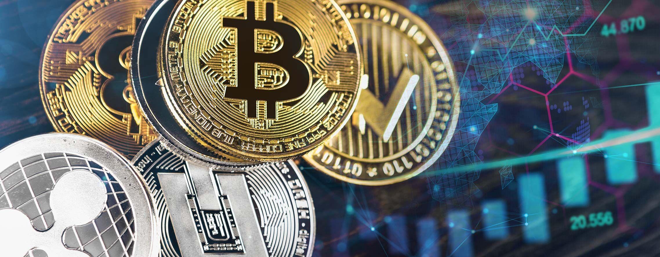 Kryptowährungen an der Börse